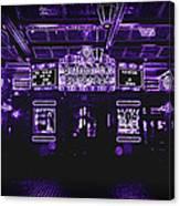 Bottleneck Blues Bar Canvas Print