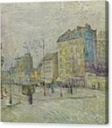 Boulevard De Clichy Canvas Print