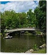 Bow Bridge Central Park Canvas Print