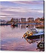 Bowling Harbour Panorama 02 Canvas Print