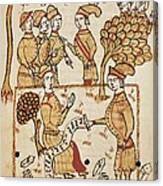Boysset, Bertrand 1355-1415. Surveyor Canvas Print