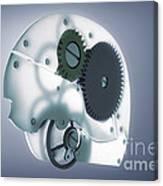 Brain Mechanism Canvas Print