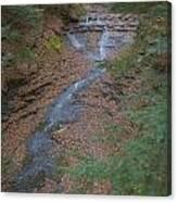 Bridal Vail Falls - Cvnp Canvas Print