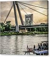 Bratislava Bridge Canvas Print