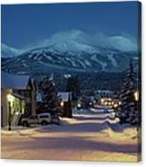 Breckenridge Colorado Morning Canvas Print