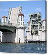 Bridge Of Lions St Augustine Florida Canvas Print