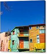 Bright Colors In Buenos Aires Canvas Print