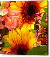 Bright Spring Flowers Canvas Print