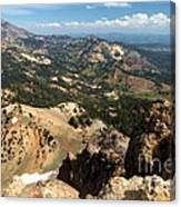 Brokeoff Mountain Scenery Canvas Print
