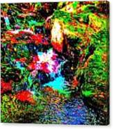 Brook Texture 13 Canvas Print