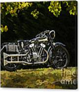 Brough Superior Ss 100 Canvas Print