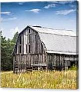 Brutus Barn Canvas Print