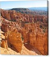 Bryce Canyon Hoodoos And Fins Canvas Print