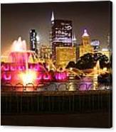 Buckingham Fountain Chicago Canvas Print