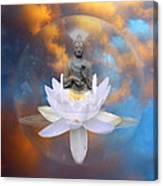Buddha Meditation Canvas Print