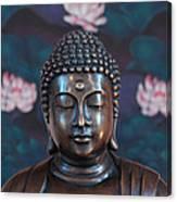 Buddha Statue Denver Canvas Print