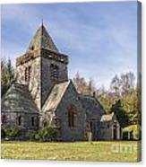 Building Church Southwick Parish Church Dumfries And Galloway Canvas Print