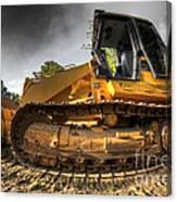 Bulldozer Canvas Print