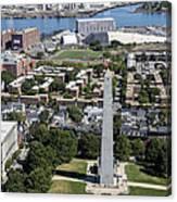 Bunker Hill Monument, Boston Canvas Print