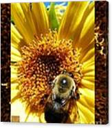 1 Busy Bumble L Canvas Print