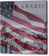 Butte America Canvas Print
