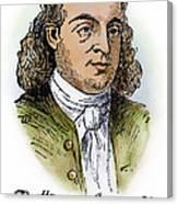 Button Gwinnett (1735-1777) Canvas Print