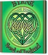 Byrne Soul Of Ireland Canvas Print