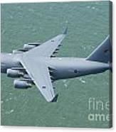 C-17 Of 99 Sqn Canvas Print