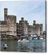 Caernarfon Castle Panorama Canvas Print