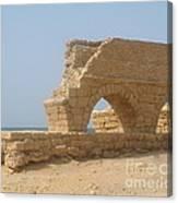 Caesarea Israel Ancient Roman City Port Canvas Print