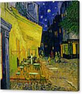 Cafe Terrace Arles Canvas Print