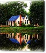 Cajun Home Canvas Print