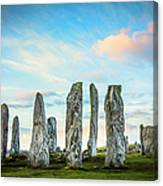 Callanish Standing Stones, Isle Of Lewis Canvas Print