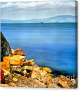 Calm In Balaton Lake Canvas Print
