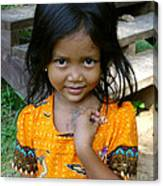 Cambodian Innocence Canvas Print