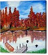 Camp Maple Canvas Print