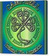 Campbell Ireland To America Canvas Print