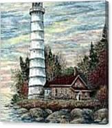 Cana Island Light Canvas Print