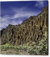 Canyon Walls 3 Canvas Print