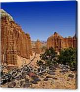 Capital Reef Canvas Print