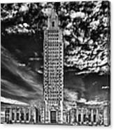 Capitol Building Of Louisiana Canvas Print
