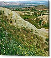 Cappadocia Landscape-turkey Canvas Print