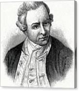 Captain James Cook, British Explorer Canvas Print