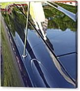 Car Reflection Canvas Print