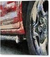 Car Rims 02 Photo Art 03 Canvas Print