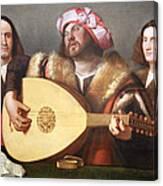 Cariani's A Concert Canvas Print
