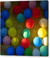 Carnival Balloons Canvas Print