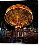 Carnival Night Canvas Print