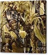 Carnival Rio De Janeiro 30 Canvas Print