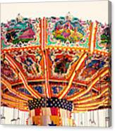 Carnival Swings Canvas Print